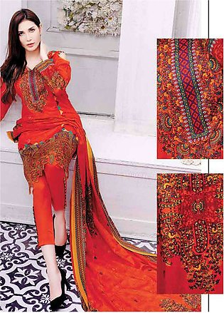 Five Star Printed Lawn Unstitched 3 Piece Suit FS19L 1204A - Spring / Summer ...