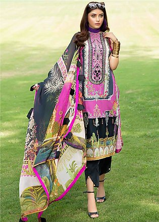 Umang by Motifz Embroidered Lawn Unstitched 3 Piece Suit UMT20L 2545 Mulberry -…