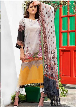 Sobia Nazir Embroidered Lawn Unstitched 3 Piece Suit SN20L 7B - Summer Collec...
