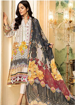 Kross Kulture Embroidered Lawn Unstitched 3 Piece Suit KK20ZS-2 NEO MZB-026 -...