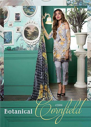 Rang Rasiya Embroidered Lawn Unstitched 3 Piece Suit RGR17E3 Botanical A