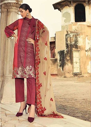 Sheen by Charizma Embroidered Viscose Unstitched 3 Piece Suit SHN19V 03 - Win...