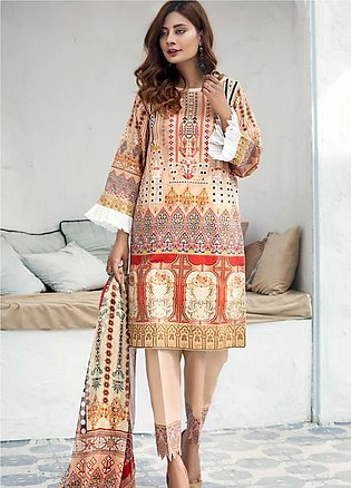 Sanoor by Noor Fatima Embroidered Lawn Suits Unstitched 3 Piece SN21SS D-264 - …