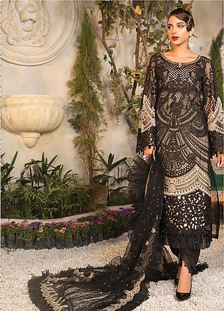 Mbroidered By Maria B Embroidered Lawn Suits Unstitched 3 Piece MB21MB 06 - Eid…