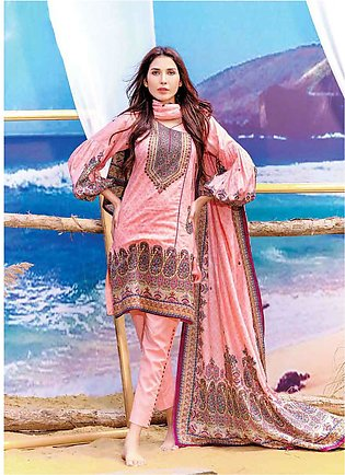 Five Star Printed Lawn Unstitched 3 Piece Suit FS19L 1202B - Spring / Summer ...