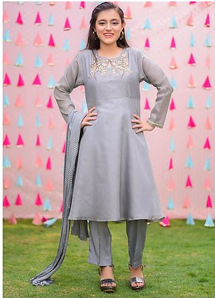 Ochre Missouri Fancy 3 Piece for Girls - OFW-311 GREY