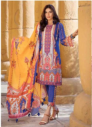 Umang by Motifz Embroidered Lawn Unstitched 3 Piece Suit MT20U 2526 - Summer Co…