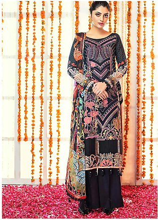 Zinnia by Rang Rasiya Embroidered Lawn Unstitched 3 Piece Suit ZRR20F 60021 A...