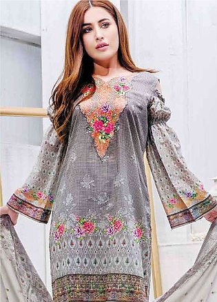 Five Star Printed Lawn Unstitched 3 Piece Suit FS19L 1207C - Spring / Summer ...