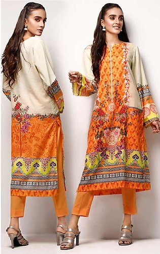 Gul Ahmed Printed Lawn Unstitched 2 Piece Suit GA20SE-5 TLP 01 - Spring / Summe…