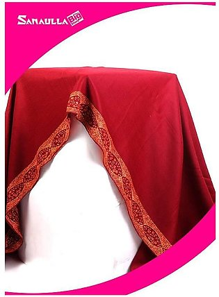 Maroon Embroidered Pashmina Shawls for ladies - SW 211