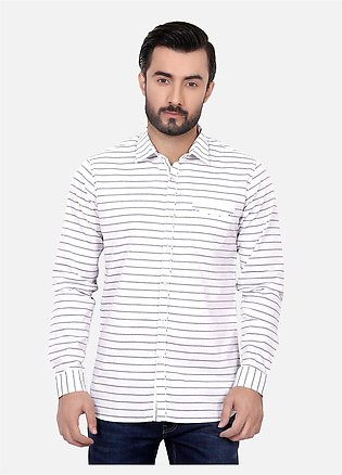 Furor Casual Shirts for Men - White FRM18CS 31189