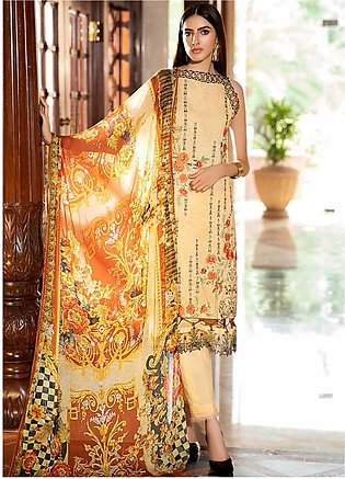 Amal by Motifz Embroidered Lawn Unstitched 3 Piece Suit AMT20F 2596 Timer Wolf …