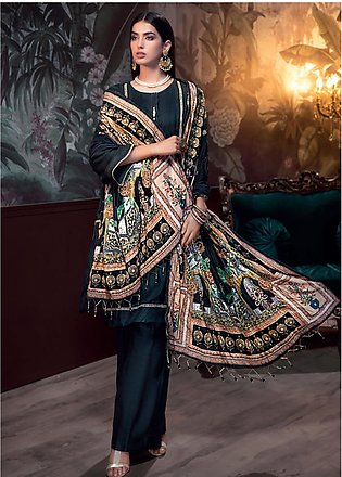 Gul Ahmed Embroidered Raw Silk Unstitched 3 Piece Suit GA19NC VSH 03 GOHAR - ...