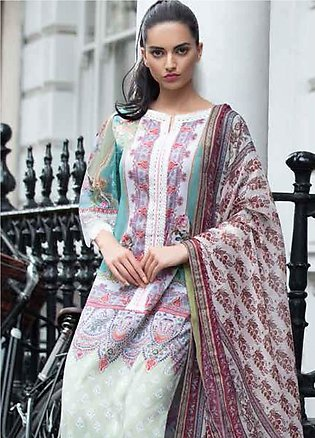 Sobia Nazir Embroidered Lawn Unstitched 3 Piece Suit SN20L 6A - Summer Collec...