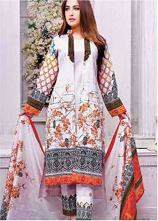 Five Star Printed Lawn Unstitched 3 Piece Suit FS19L 1203C - Spring / Summer ...