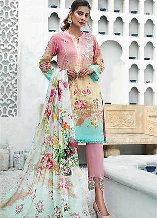 Sanoor by Noor Fatima Embroidered Lawn Suits Unstitched 3 Piece SN21SS D-262 - …
