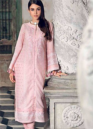 Gul Ahmed Embroidered Lawn Unstitched Kurties GA19E FE-164 - Eid Collection