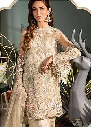 Freesia by Suffuse Embroidered Zari Net Unstitched 3 Piece Suit FRS19ZN 6 AVI...