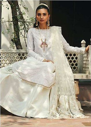 Zara Shahjahan Embroidered Lawn Unstitched 3 Piece Suit ZS17E2 Nargis