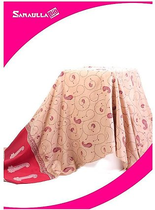 Fawn Embroidered Pashmina Shawls for women - SW 244