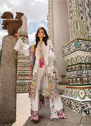 Crimson Embroidered Lawn Unstitched 3 Piece Suit CRM19L 1A - Spring / Summer ...