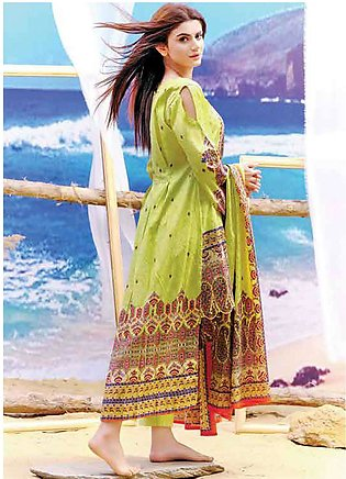 Five Star Printed Lawn Unstitched 3 Piece Suit FS19L 1202C - Spring / Summer ...