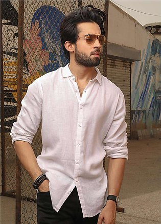 Furor Casual Shirts for Men - White FRM18CS 31207