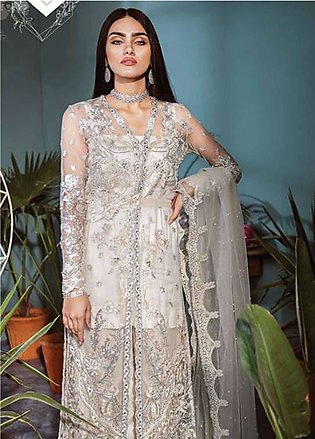 Freesia by Suffuse Embroidered Zari Net Unstitched 3 Piece Suit FRS19ZN 7 SER...