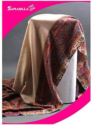 Multi Embroidered Pashmina Shawls for ladies - SW 223