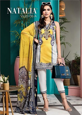 Viva by Anaya Embroidered Lawn Unstitched 3 Piece Suit V20AKC 06 A NATALIA - ...