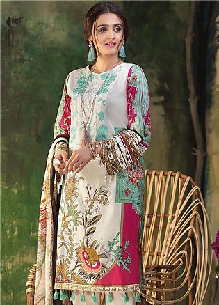 Salitex Embroidered Lawn Unstitched 3 Piece Suit ST19ZL 317A - Summer Collection