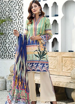 Sanoor by Noor Fatima Embroidered Lawn Suits Unstitched 3 Piece SN21SS D-269 - …