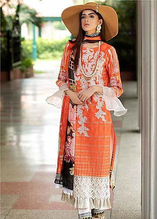 Amal by Motifz Embroidered Lawn Unstitched 3 Piece Suit AMT20F 2605 - Festive C…