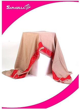 Fawn Embroidered Pashmina Shawls for ladies - SW 205