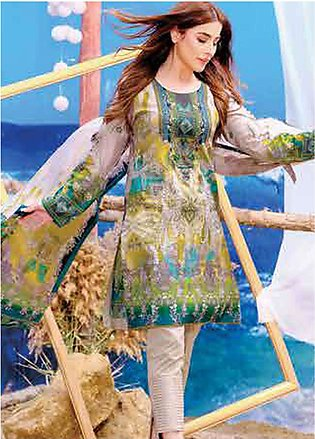 Five Star Printed Lawn Unstitched 3 Piece Suit FS19L 1201A - Spring / Summer ...