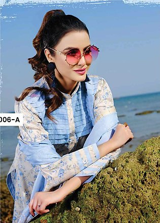 Five Star Printed Lawn Unstitched 3 Piece Suit FS20C 1006A - Spring / Summer ...
