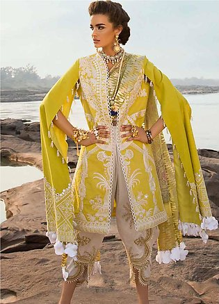 Crimson Embroidered Lawn Unstitched 3 Piece Suit CRM19L 7A - Spring / Summer ...
