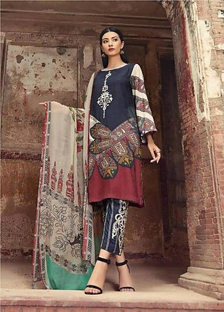 Sheen by Charizma Embroidered Viscose Unstitched 3 Piece Suit SHN19V 05 - Win...