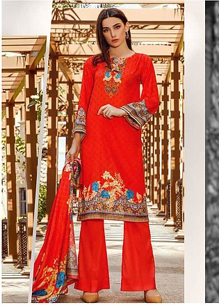 Ittehad Textiles Printed Lawn Unstitched 3 Piece Suit ITD20CS 47B - Summer Co...