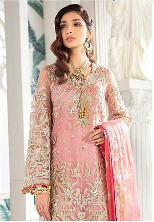 Freesia by Suffuse Embroidered Net Unstitched 3 Piece Suit FRS19W Indigenous ...