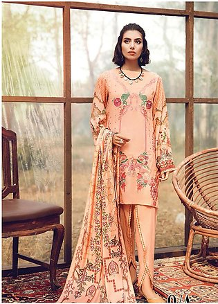 RajBari Embroidered Karandi Unstitched 3 Piece Suit RB19-W2 9A - Winter Colle...