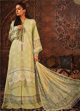 Mprints by Maria B Embroidered Karandi Unstitched 3 Piece Suit MB20FW 9A - Wint…