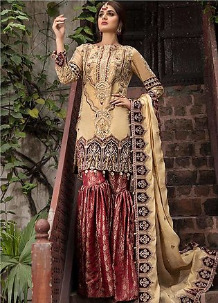 Rang e Bahar by Motifz Embroidered Missouri Unstitched 3 Piece Suit RB20MT 02...