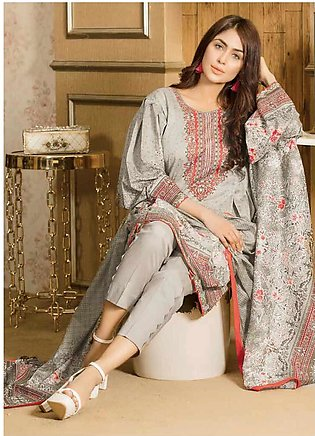 Five Star Printed Lawn Unstitched 3 Piece Suit FS20CL 1219C - Spring / Summer...