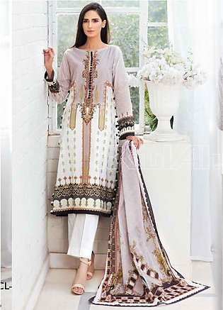 Gul Ahmed Printed Lawn Unstitched 3 Piece Suit GA20SBL CL 820 - Summer Collecti…
