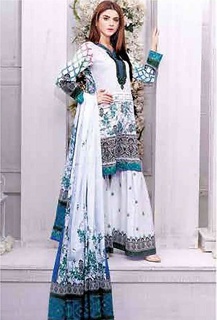 Five Star Printed Lawn Unstitched 3 Piece Suit FS19L 1203B - Spring / Summer ...