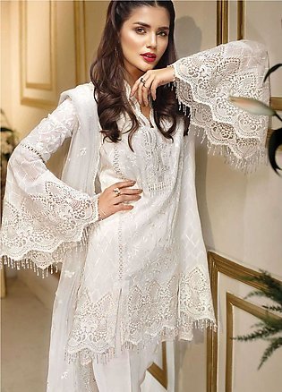 Anaya by Kiran Chaudhry Embroidered Lawn Unstitched 3 Piece Suit AKC18F 06 CO...