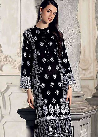 Gul Ahmed Embroidered Lawn Unstitched Kurties GA19E FE-161 - Eid Collection
