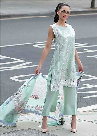 Sobia Nazir Embroidered Lawn Unstitched 3 Piece Suit SN20L 3A - Summer Collec...